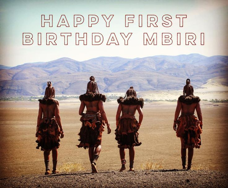 Happy Birthday Mbiri... Thank you to everyone for all their support over the last year!