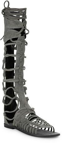 Free People Sunseeker Suede Gladiator Sandals