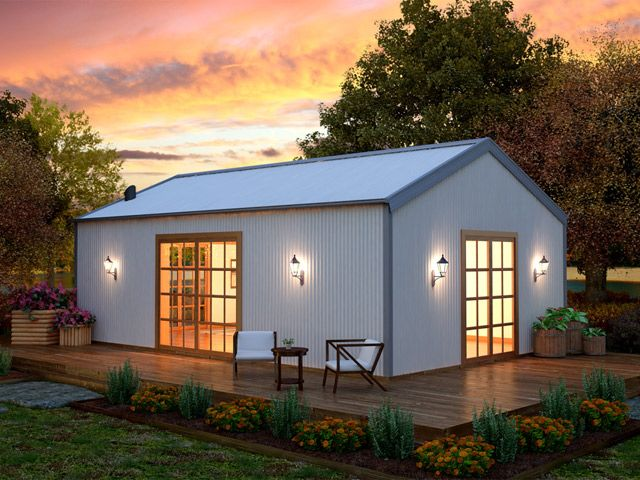 The Getaway DIY Home | Wide Span Sheds