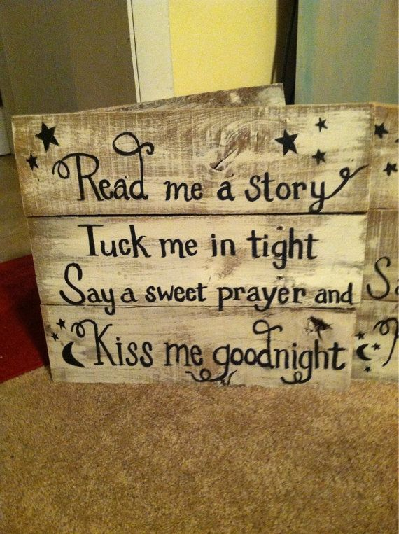 Hand painted pallet sign by JunkifiedTreasures on Etsy, $35.00