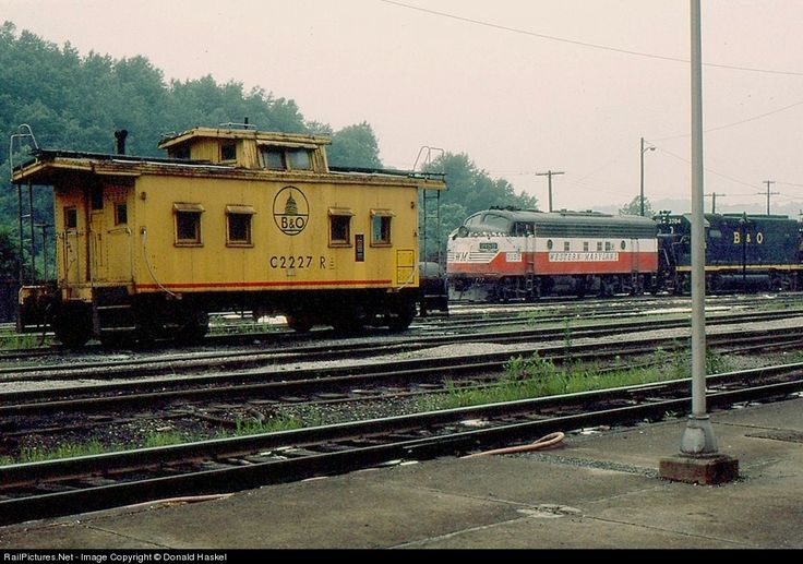 RailPictures.Net Photo: Western Maryland Railway EMD F7(A) at Grafton, West Virginia by Donald Haskel