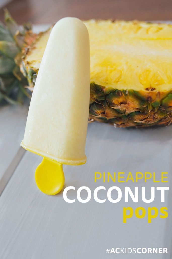 Pineapple Coconut Pops! great 21 Day Fix recipe #21dayfix #21df