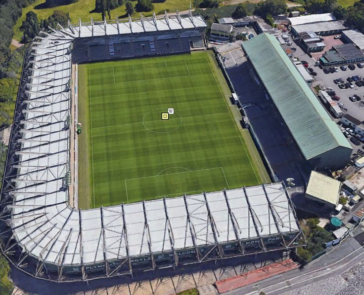 Home Park - Home of Plymouth Argyle FC