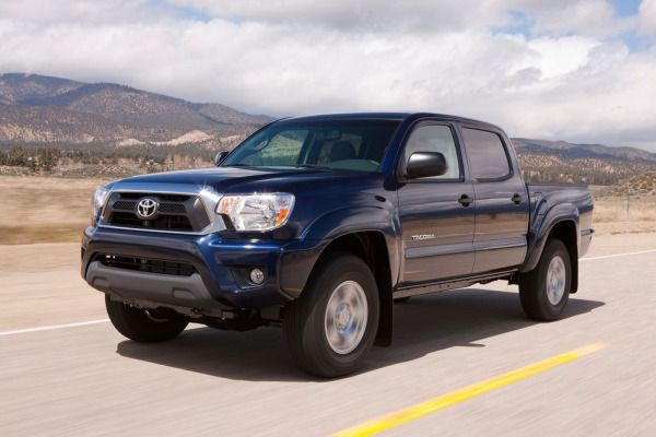 Top 10 Least Expensive Trucks for 2015   Edmunds.com Toyota Tacoma