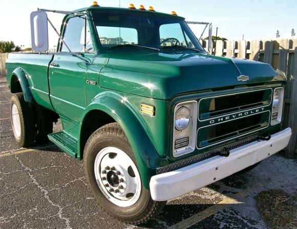 1973 cevy c65 | 1972 Chevrolet C50 Pickup Conversion Dually For Sale