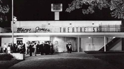 Theatre '47 – Margo Jones' legendary regional theater where, among other achievements, she produced plays of a young Tennessee Williams and introduced the innovation of theater-in-the-round. State Fair of Texas. Dallas.