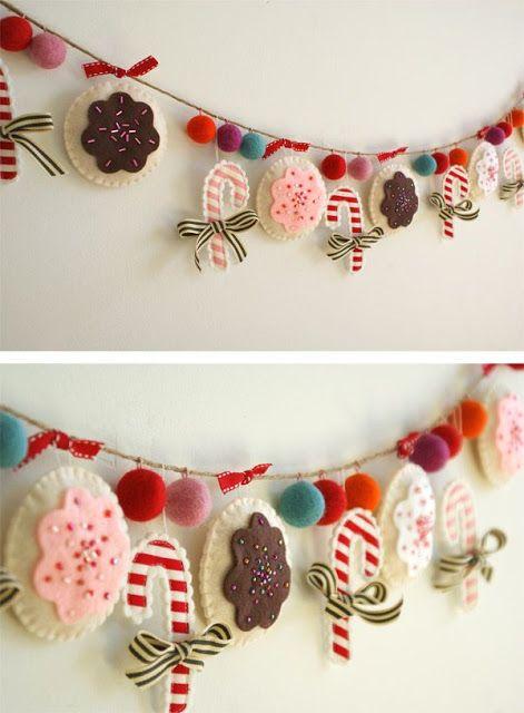 80 Ideas Christmas ornament with felt