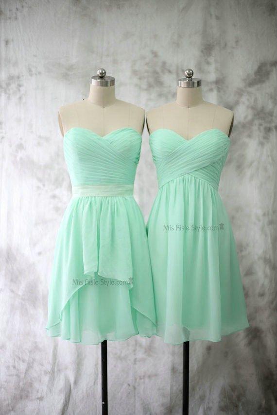 Best 25 Mint Bridesmaid Dresses Ideas On Pinterest Mint