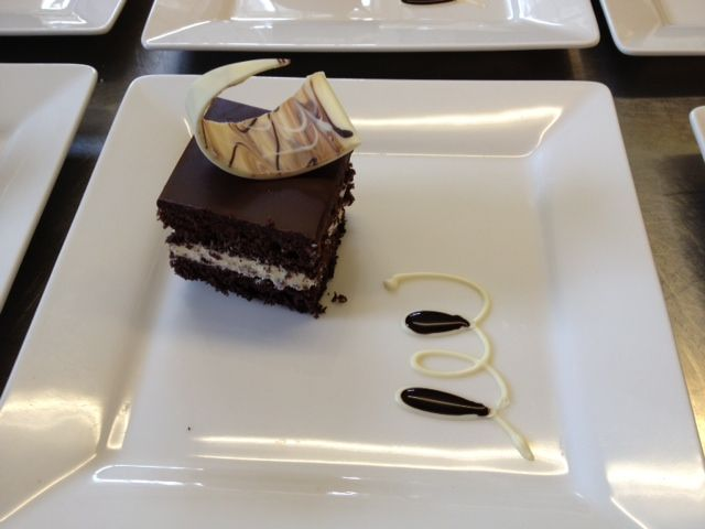 Double Chocolate Gateau - Homemade here at The Barnstaple Hotel