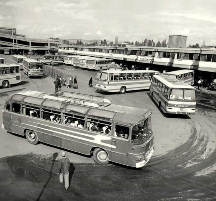 1972 Ankara Otobüs terminali