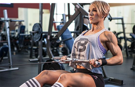 Your back is an essential piece of a balanced, symmetrical physique. Start building yours with IFBB Figure Pro Jessie Hilgenberg's video back workout!