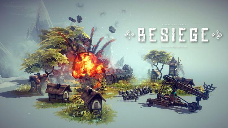 Besiege w Samcu Alfa #32 – najładniejsza gra o budowaniu maszyn oblężniczych