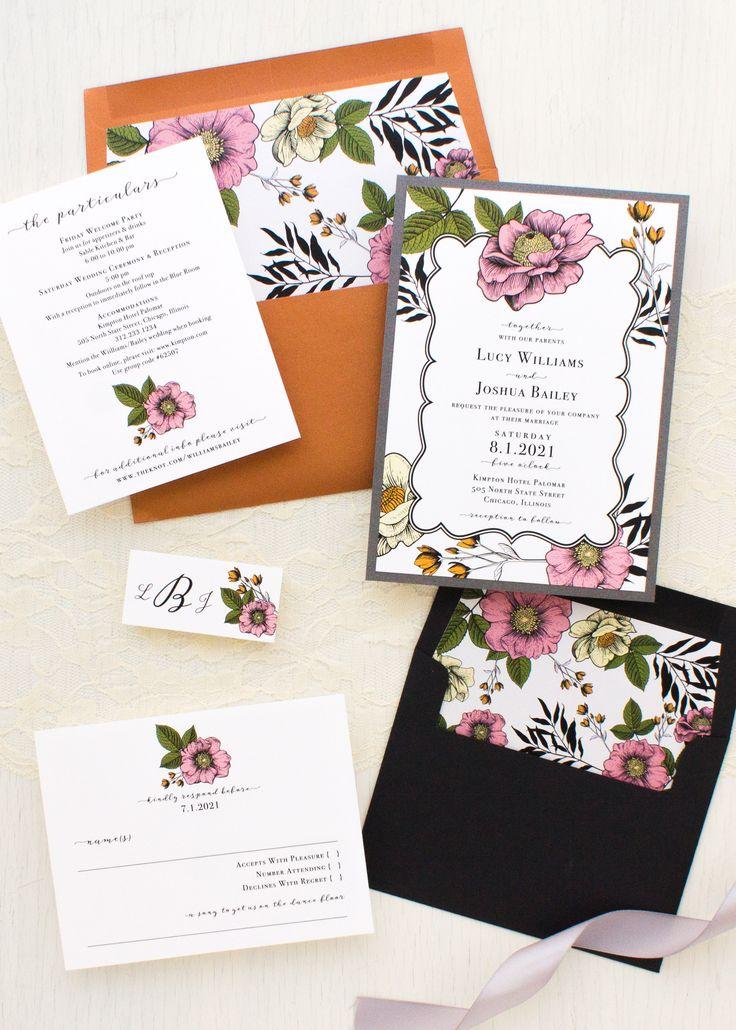 vintage country garden wedding invitations%0A Vintage Copper Wedding Invitations