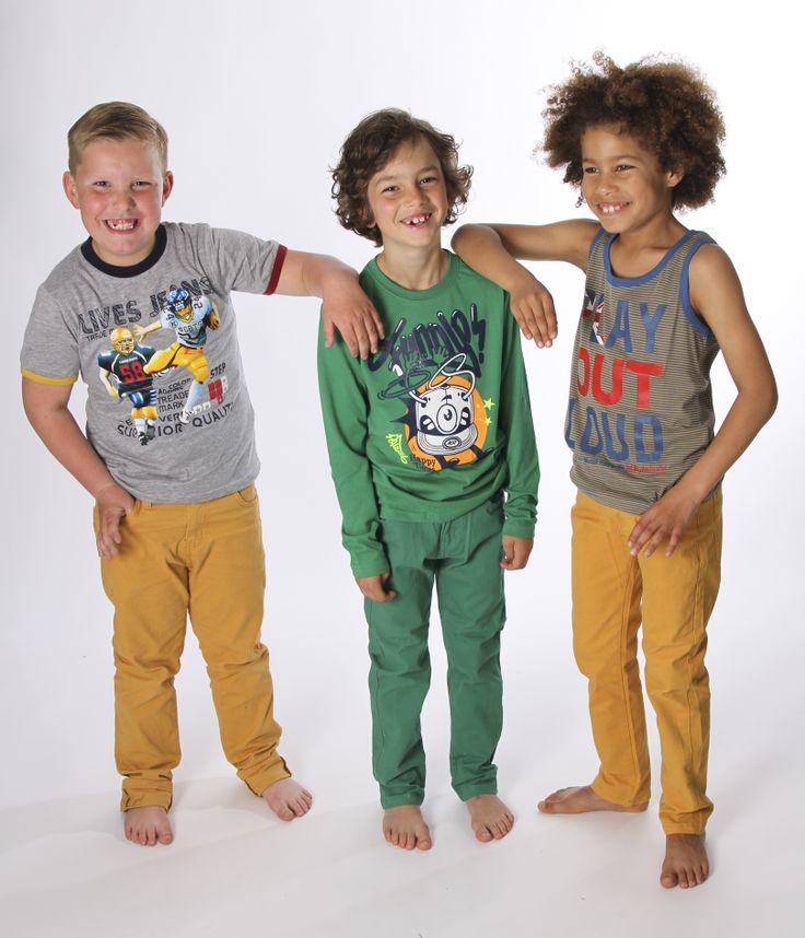 Gekleurde broeken 16,95 euro
