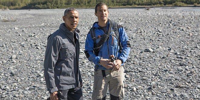 """""""В дивата пустош с Беър Грилс"""" с участието на Барак Обама"""