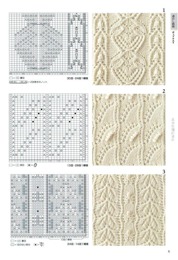 285 mejores imágenes de Pontos tricot e crochet en Pinterest