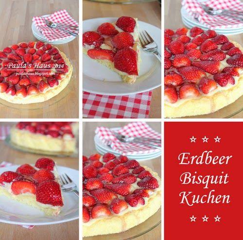 Erdbeer Bisquit Kuchen