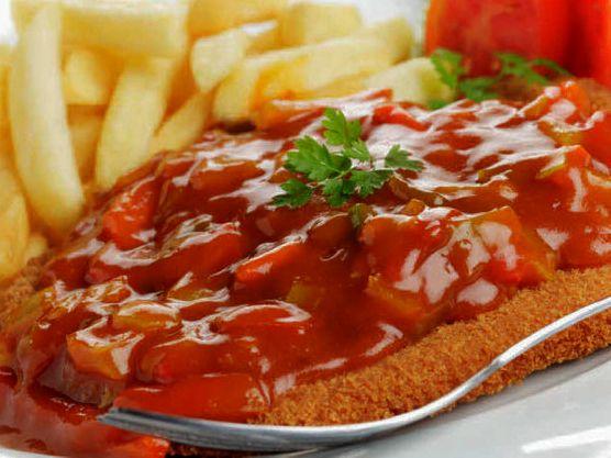 Paprika sauzen en gerechten