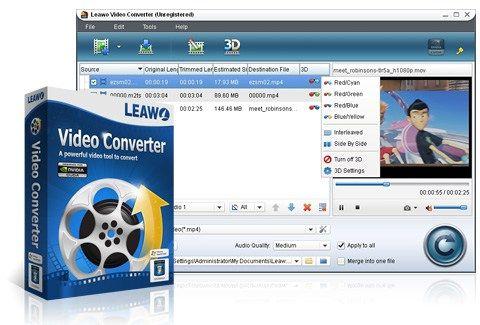 Leawo Video Converter 7.3.0 - Miễn phí một năm bản quyền