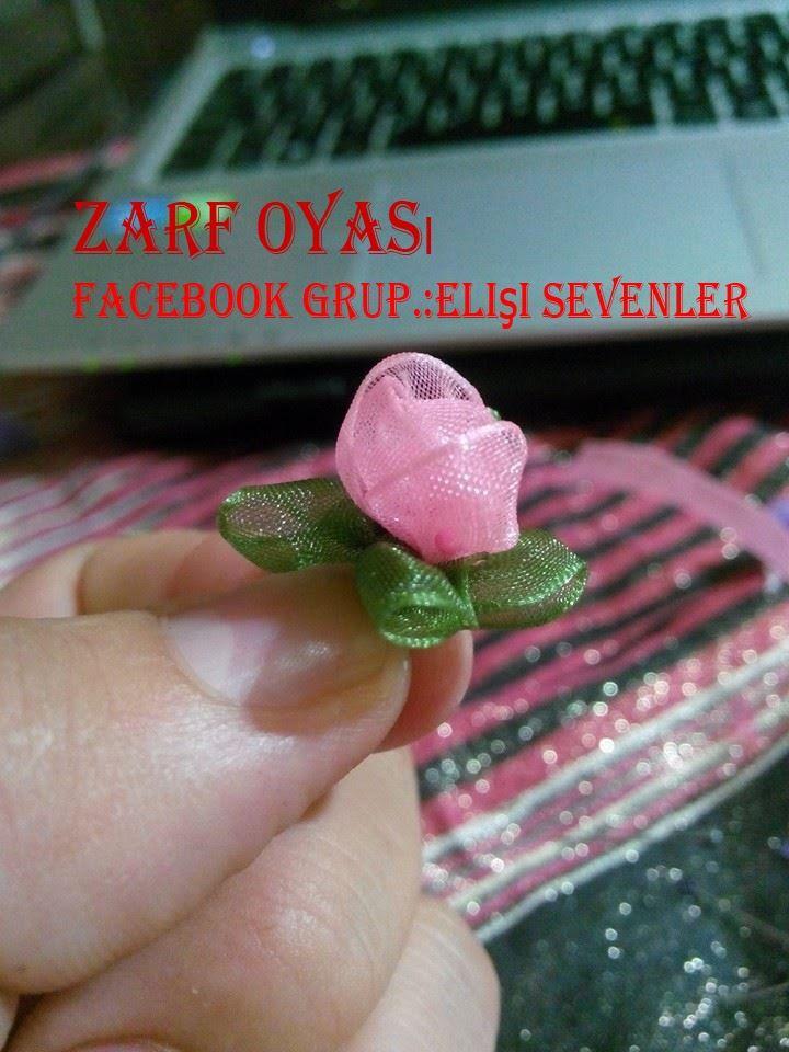 paso a paso, bella flor para cintillos (diademas), con cinta de razo...