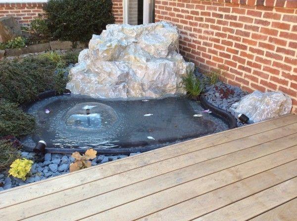 Bassin rocher 01 agencement jardin bassin piscine mobilier en 2019 amenagement jardin - Agencement jardin ...