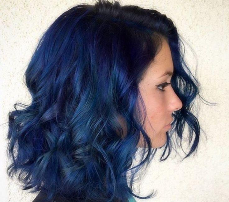 Navy Blue Hair 181