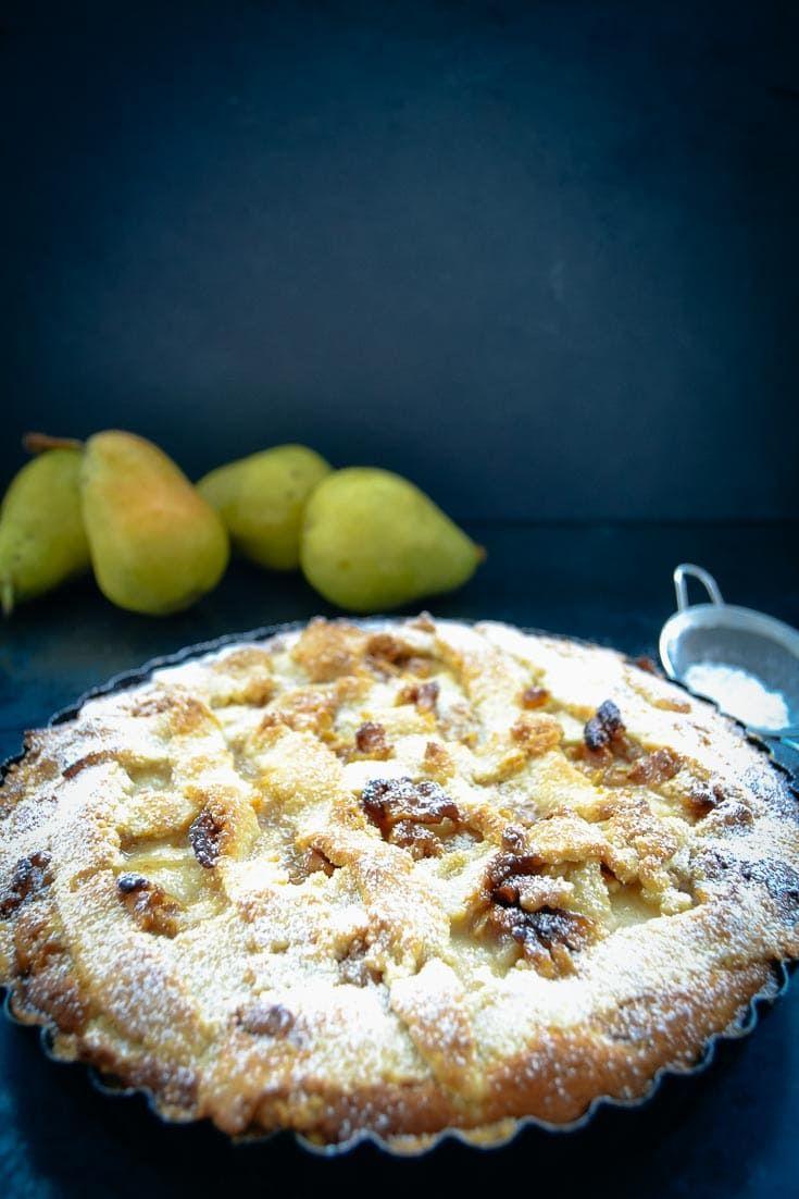 Birnen Tarte Rezepte mit Walnüssen