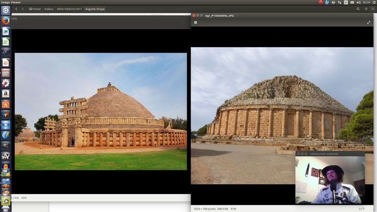 The Numidian Romans (Algerians) copied the INDIAN Sanchi Stupa Also? Wan...