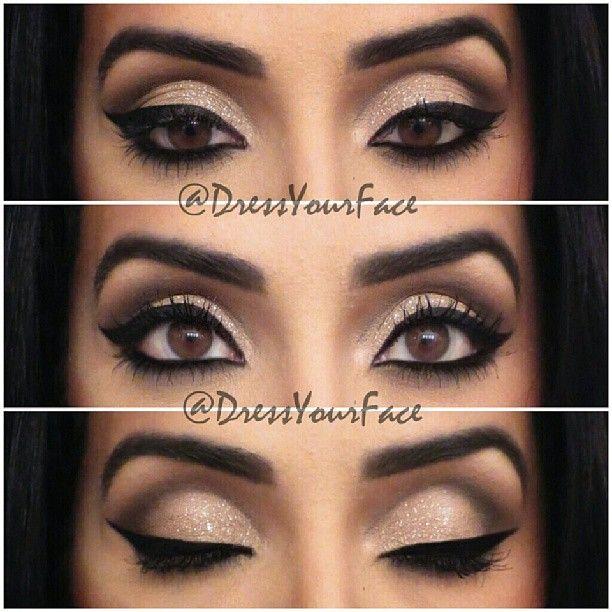 .@Crystal Lopez | #EOTD on a client, I love her eyes! Liner: @Inglot_USA AMC Gel Liner #77 set... | Webstagram - the best Instagram viewer