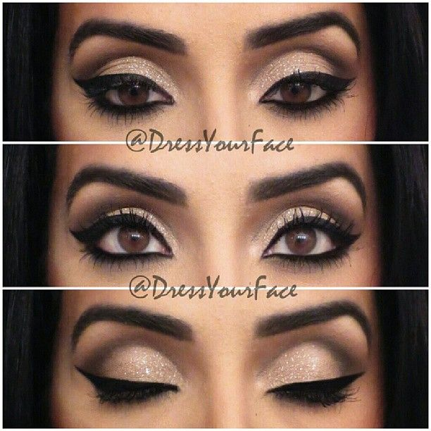 .@Crystal Lopez | #EOTD on a client, I love her eyes! Liner: @Inglot_USA AMC Gel Liner #77 set... | Webstagram - the best Instagram viewer