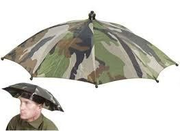 Umbrella Hat | 2 Color 55cm Sun Shade Camping Fishing Hiking Festivals Outdoor Brolly (Camo) *** To view further for this item, visit the image link.