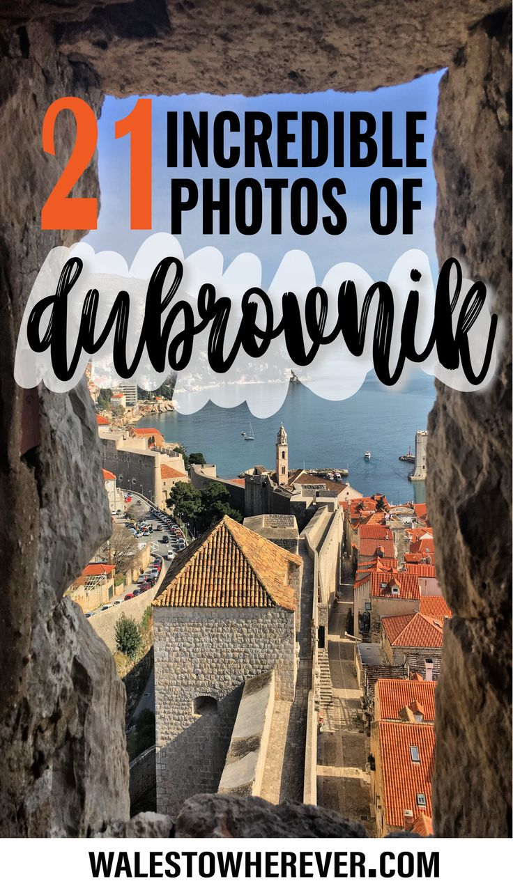 21 Very Orange Photos to Inspire You to Visit Dubrovnik