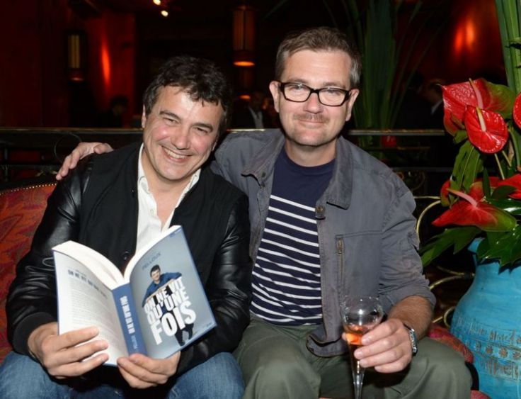 Patrick Pelloux et le dessinateur Charb (Stephane Charbonnier)