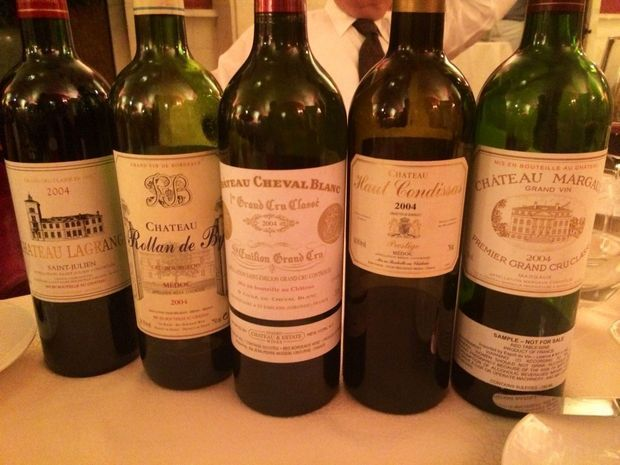 Blind Tasting in New York : Chateau Rollan de By & Chateau Haut Condissas out scoring Château Margaux and Cheval Blanc !