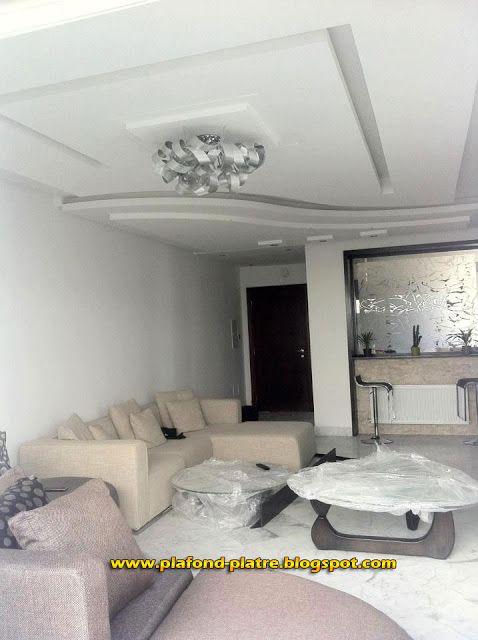 faux plafond moderne with lustre pour mezzanine. Black Bedroom Furniture Sets. Home Design Ideas