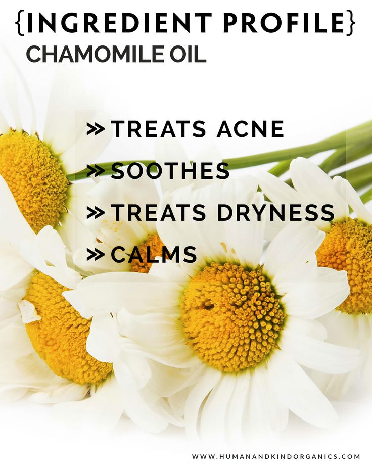 We are sharing the wonderful skin benefits of Chamomile Oil found in our Superb Serum [face] launching early 2017 (Certified Organic)