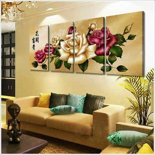 109 best Wall decoration and painting images on Pinterest | Wall ...
