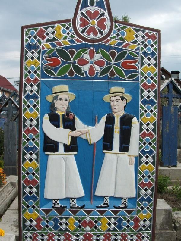 """""""Cimitirul Vesel"""" din Sapanta"""
