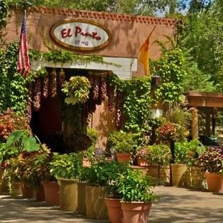 El Pinto is an authentic New Mexican restaurant in Albuquerque; a wonderful gathering place.