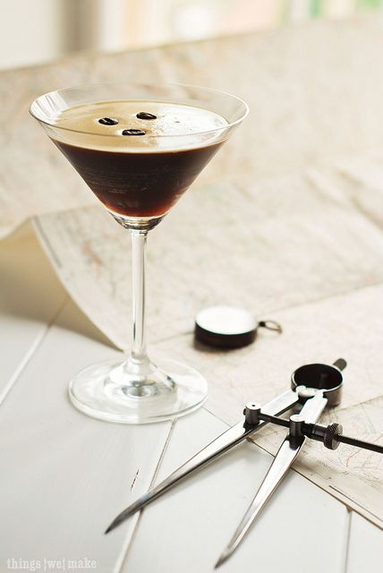 Espresso Martini on Things{we}make - wonder if its the same as the one they do at The Chapel?