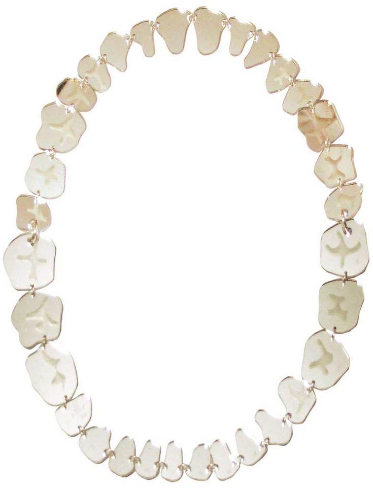 Teeth Necklace - Large Mirror Set £174 (sale £87) - SS08 Movie Mayhem