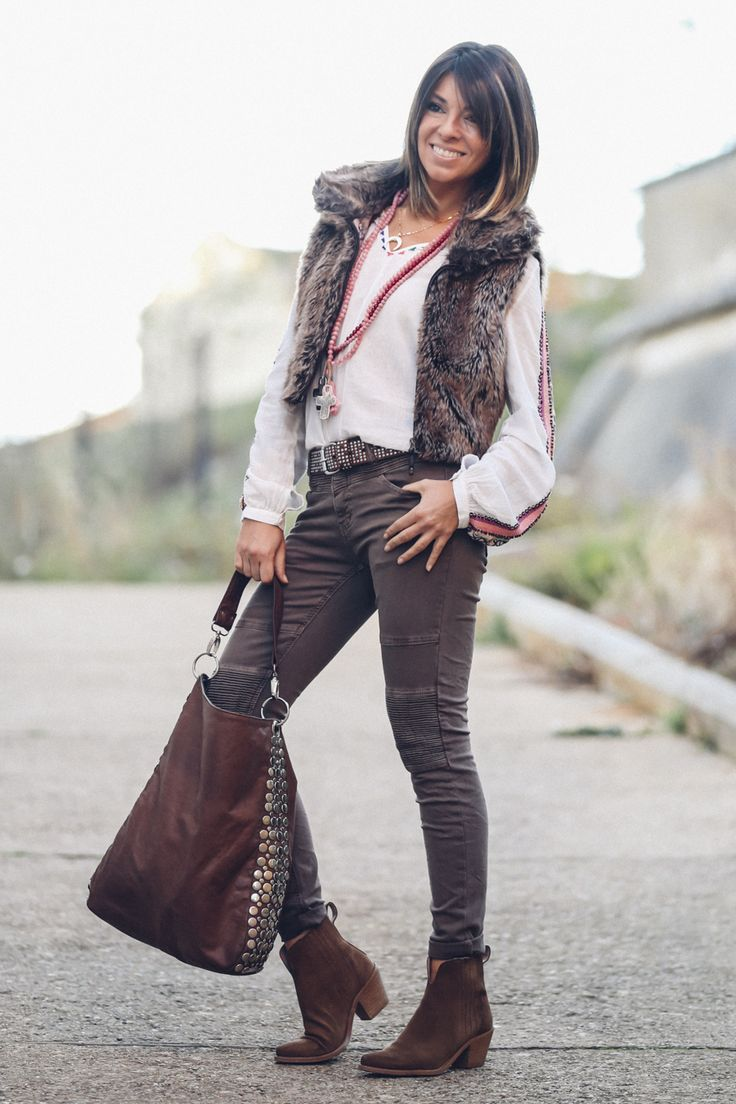 Brown And Pink Boho ChicBoho StyleHippie