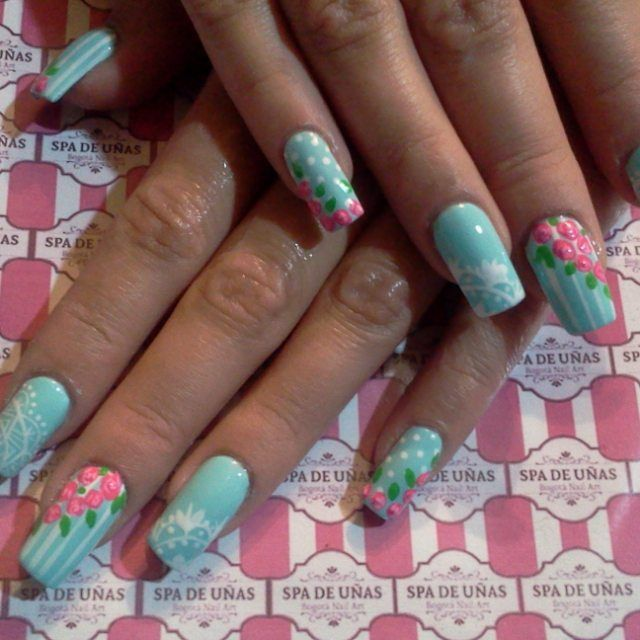 nail acrylic design uñas decoradas y uñas acrilicas