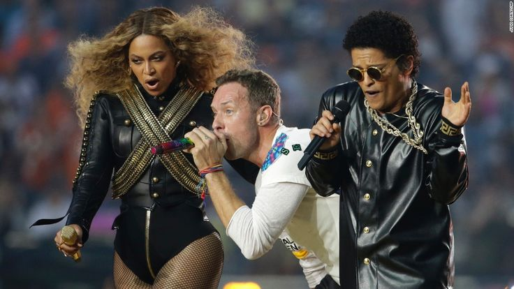 Coldplay, Bruno and Beyonce bring the love at halftime - CNN.com