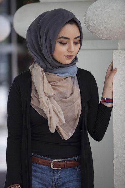 Silvia Ombre Hijab - http://www.popularaz.com/silvia-ombre-hijab/