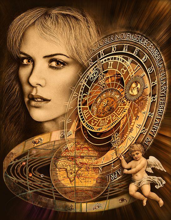 Pavel Bergr / Astrology http://www.galerie-bergr.com/