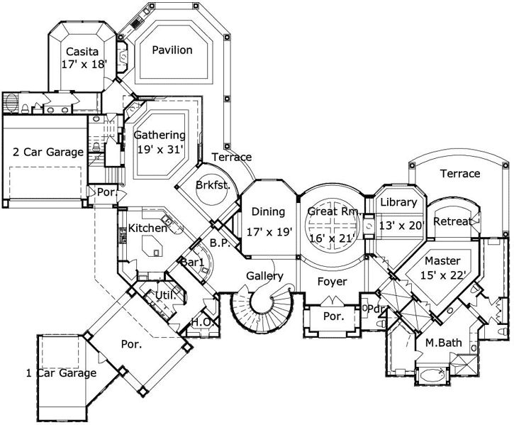 Best Floor Plan Images On Pinterest Architecture Dream - Floor plan for house 2