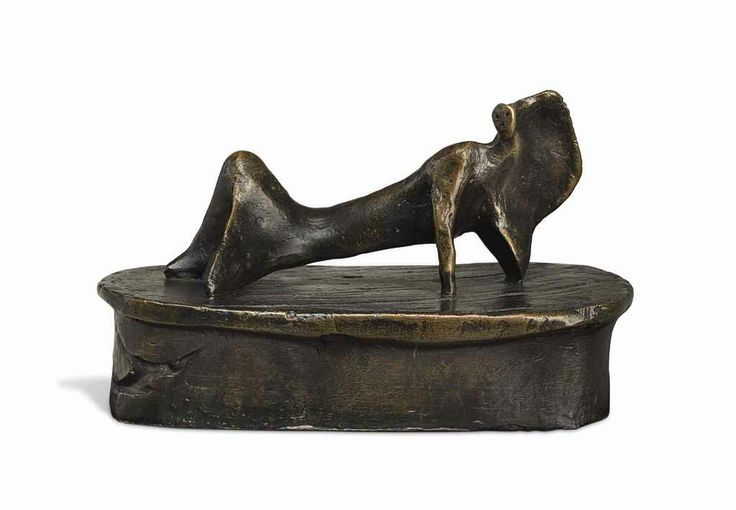 Henry Moore (1898-1986)  Maquette for Reclining Figure: Cloak © The Henry Moore Foundation. All Rights Reserved, DACS 2014 / www.henry-moore.org .
