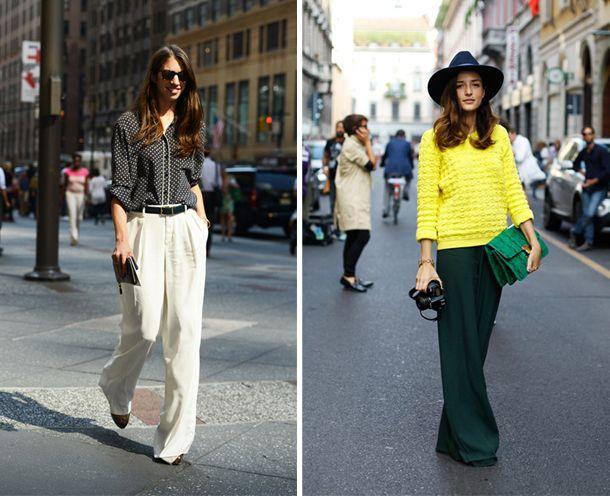 Kısa paçalı, pilili, baskılı,desenli…Geniş paça pantolonlar 2014 sokak modasının önemli oyuncularından biri olacak. Daha fazlası için Markafoni Blog'a göz atın ;) #markafoni #blog #pantolon #moda #sokakmodasi #trend #stil #wideleg #fashion #accessories #style #stylish #look #markafoniblog