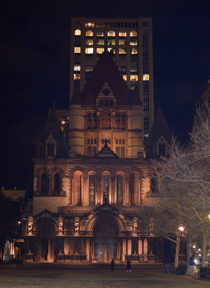 Trinity Church  Boston, Massachusetts H.H. Richardson, 1877